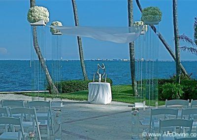 Acrylic Wedding Canopy Chuppah Altar Mandap Rental