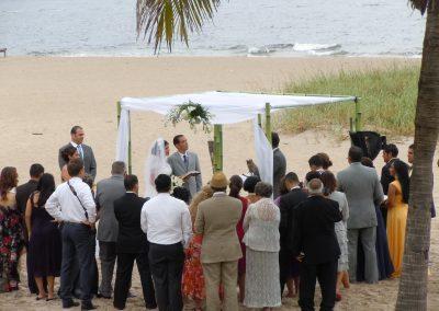 Bamboo Wedding Canopy Altar Chuppah Hilton Ft. Lauderdale FL Miami Del Ray Sunny Isles Boca Raton Naples West Palm Beach