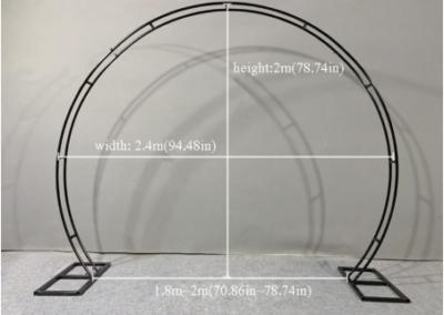 Walk-thru Geometric Round Arch