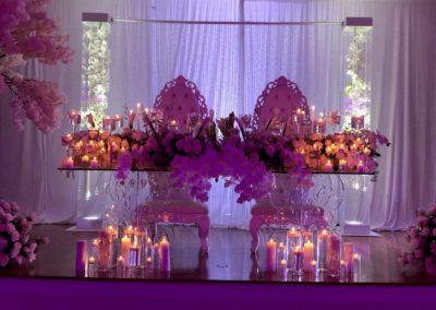 Decor Gems Curtain Backdrop Acrylic Wedding Arch