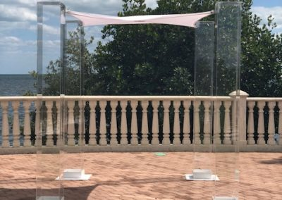 Acrylic Chuppah Thalatta Estate