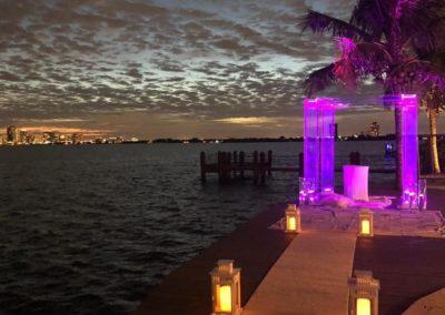 """Wedding Decor White 17"""" Lanterns Aisle Columns"""