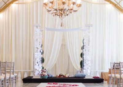 Acrylic Wedding Canopy Chuppah Mandap Arch Altar in South FL