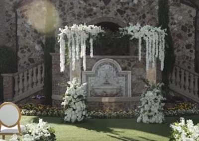Acrylic arch Bella Collina