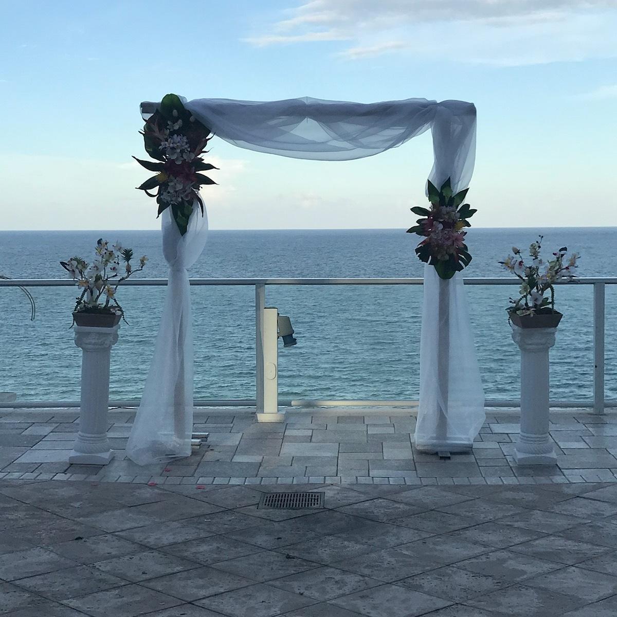 Bamboo Wedding Arch: Bamboo Chuppah Or Arch Wedding Rental Miami