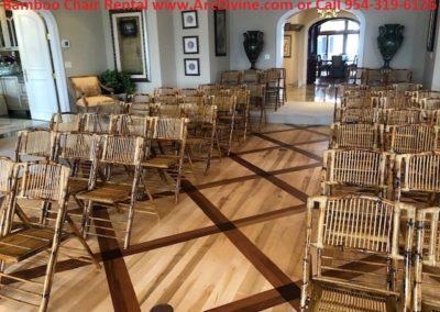 Bamboo Chair Rentals