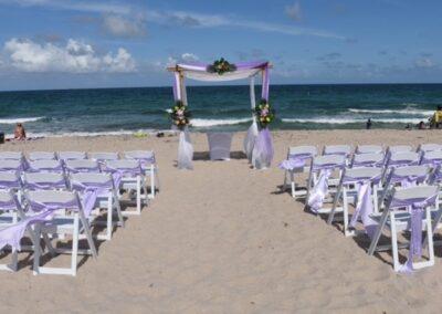 rental ft lauderdale beach chairs wedding package