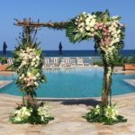 EAU Palm Beach Arch Rental Branchy Arch by Arc Divine and Richard Grille Events