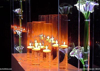 Glass Vase Room Decor Decorations Acrylic Wedding Canopy Chuppah Altar Mandap