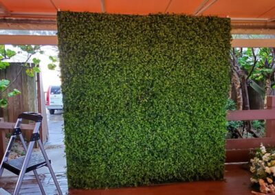 Grasswall rental Palm beach Hilton