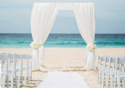 Classic Beach Wedding Canopy Chuppah Altar Arch Rentals Miami South FL