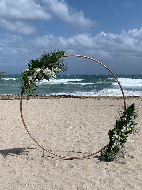 Round Arch Round Backdrop