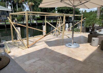 Sukkah rental - Framing