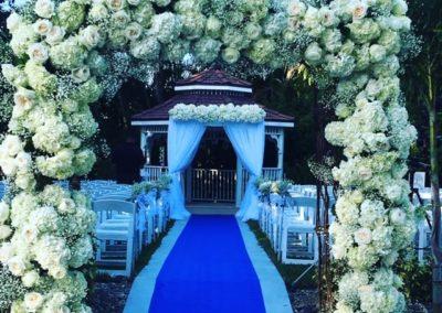 Wedding Decor Flower Arch Entrance