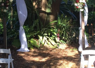 Wooden 8x8x8 Chuppah Fairchild