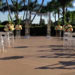 Wedding Decor acrylic aisle columns 3 feet tall