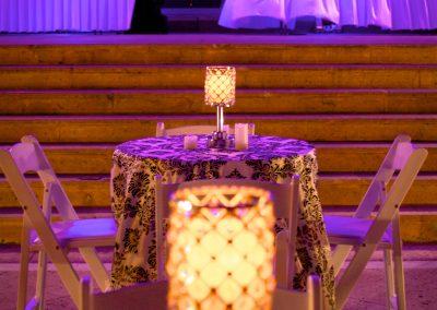 LED Uplights Room Decor Wedding Rental in South FL